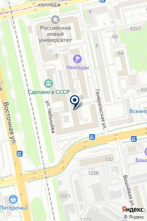 Фонд жилищного строительства ГКУ на карте Екатеринбурга
