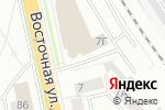 Схема проезда до компании ЛЛК-Интернешнл в Екатеринбурге