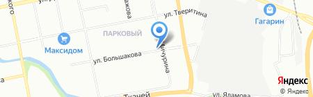 Булошная на карте Екатеринбурга