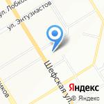 Золотой Телец на карте Екатеринбурга