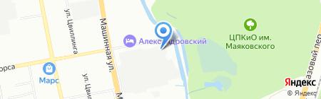 Сантехмонтаж на карте Екатеринбурга