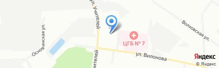 Медтехника на карте Екатеринбурга