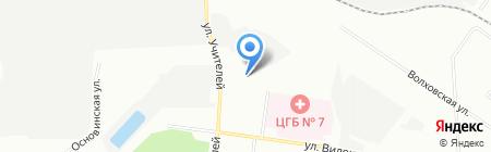 ЛАГРАН на карте Екатеринбурга