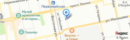 Possehl Erzkontor GmbH на карте Екатеринбурга
