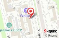Схема проезда до компании Рекламно-Издательский Концерн «Реал» в Екатеринбурге