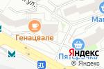 Схема проезда до компании Natural Growth в Екатеринбурге