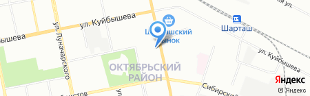 ФИАНИТ-ЛОМБАРД на карте Екатеринбурга