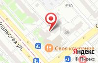 Схема проезда до компании Птм Автоматизация в Екатеринбурге