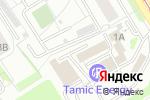Схема проезда до компании Мебельная мастерская Андреева & Скорикова в Екатеринбурге