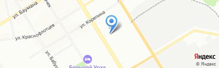 GAZELLE96.RU на карте Екатеринбурга