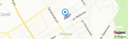 АльфаЭлектро на карте Екатеринбурга
