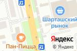 Схема проезда до компании Галантерейщикъ в Екатеринбурге