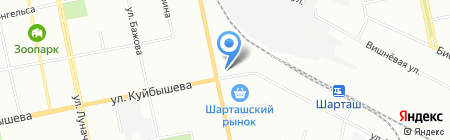 Мир игрушек на карте Екатеринбурга