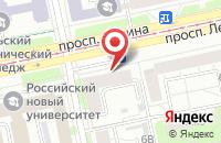 Схема проезда до компании С-Лидер в Екатеринбурге