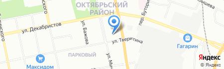 Детский сад №364 на карте Екатеринбурга