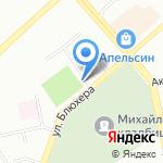 Олимпик Фит на карте Екатеринбурга
