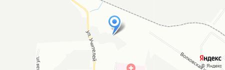 Вайссберг на карте Екатеринбурга