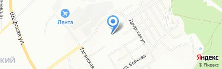 Средняя общеобразовательная школа №167 на карте Екатеринбурга