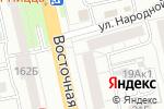 Схема проезда до компании Sushi Lait в Екатеринбурге