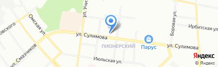 Або-Сервис ПК на карте Екатеринбурга