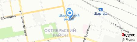 Видеопрофи на карте Екатеринбурга