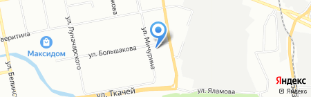 Климат-Трейд на карте Екатеринбурга