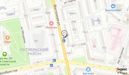 Amigo. Схема проезда в Екатеринбурге