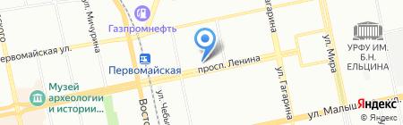 Мастер К на карте Екатеринбурга