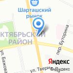 Русский Фейерверк на карте Екатеринбурга