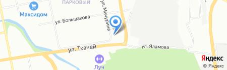 Энергорегион на карте Екатеринбурга