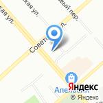 ХНА на карте Екатеринбурга