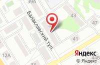 Схема проезда до компании Нота в Екатеринбурге