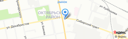 Магазин одежды на карте Екатеринбурга
