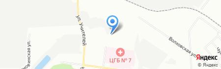 Инкор на карте Екатеринбурга
