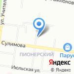 Медуза на карте Екатеринбурга