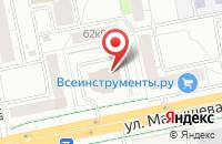 Схема проезда до компании Финансы Большого Города в Екатеринбурге
