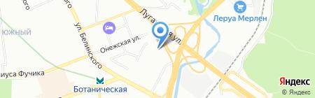 Почтовое отделение №89 на карте Екатеринбурга