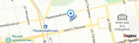 Налоги и право на карте Екатеринбурга
