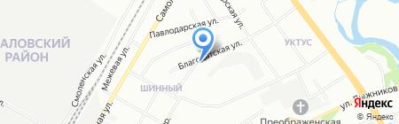 Айс Лайн на карте Екатеринбурга