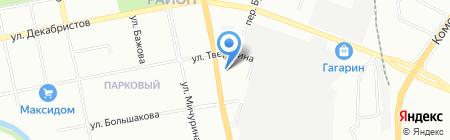 УралЛесСервис на карте Екатеринбурга
