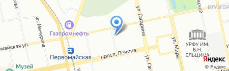МАГНОЛИЯ на карте Екатеринбурга