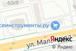Схема проезда до компании Банкомат, Уральский банк реконструкции и развития, ПАО в Екатеринбурге