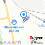 Изида на карте Екатеринбурга