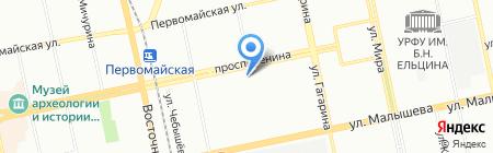Городской ломбард на карте Екатеринбурга