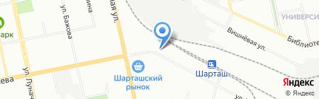 Squesito на карте Екатеринбурга