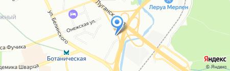 Колеса-online на карте Екатеринбурга