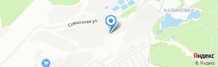 М-Сервис на карте Екатеринбурга