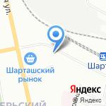 Le Thai на карте Екатеринбурга