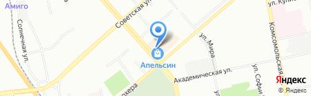 Burdina на карте Екатеринбурга