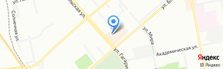 Я-АВТО на карте Екатеринбурга